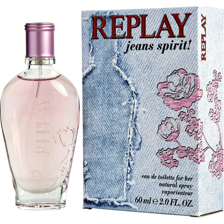 Replay Jeans Spirit By Replay Edt Spray 2 Oz