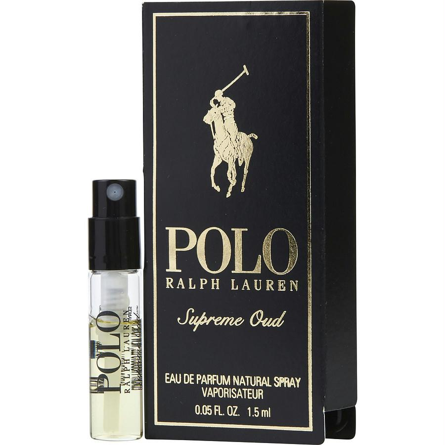 Polo Supreme Oud By Ralph Lauren Eau De Parfum Spray Vial On Card