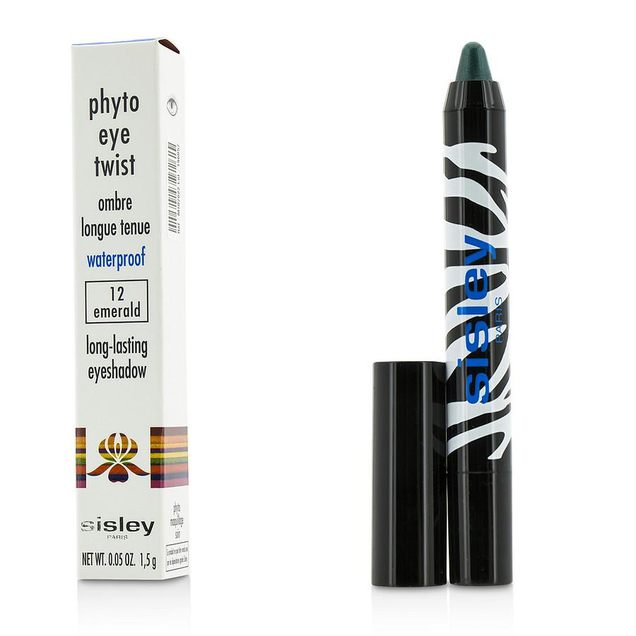 Sisley Phyto Eye Twist Long Lasting Eyeshadow Waterproof - #12 Emerald --1.5g-0.05oz By Sisley
