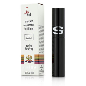 Sisley So Curl Mascara Curling & Fortifying - #01 Deep Black --10ml-0.33oz By Sisley