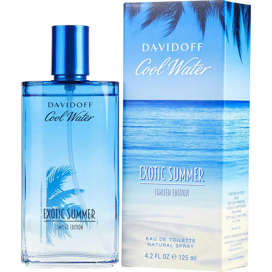 Cool Water Exotic Summer By Davidoff Edt Spray 4.2 Oz