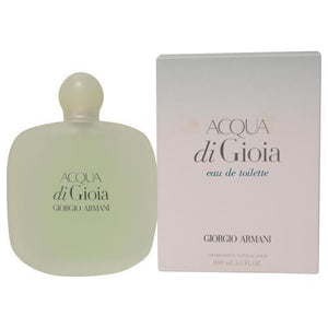 Acqua Di Gioia By Giorgio Armani Edt Spray 3.4 Oz (new Packaging)