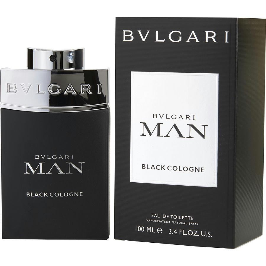 Bvlgari Man Black Cologne By Bvlgari Edt Spray 3.4 Oz