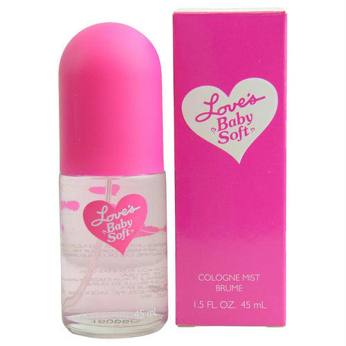 Loves Baby Soft By Dana Cologne Mist Spray 1.5 Oz