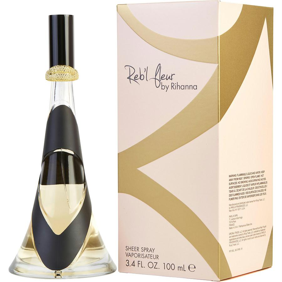 Rihanna Reb'l Fleur By Rihanna Sheer Spray 3.4 Oz