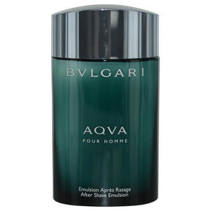Bvlgari Aqua By Bvlgari Aftershave Emulsion 3.4 Oz *tester