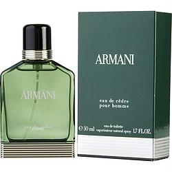 Armani Eau De Cedre By Giorgio Armani Edt Spray 1.7 Oz