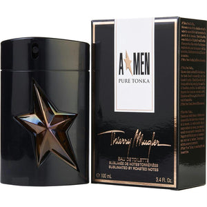 Angel Men Pure Tonka By Thierry Mugler Edt Spray 3.4 Oz