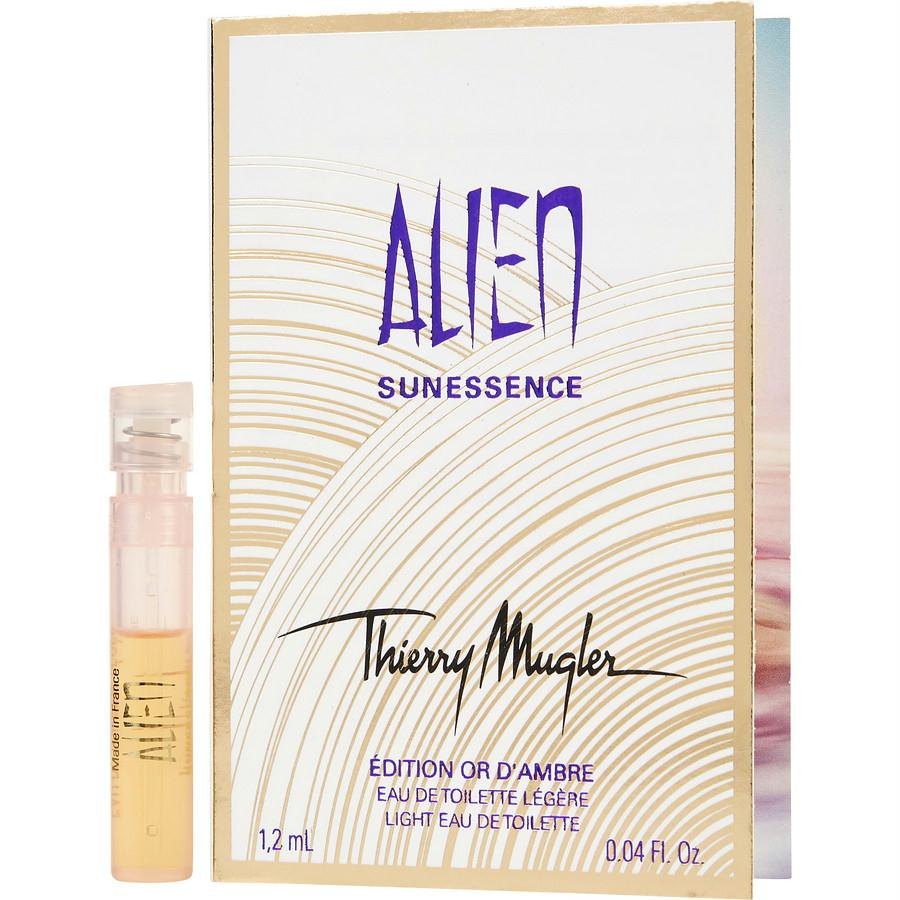 Alien Sunessence By Thierry Mugler D'ambre Light Edt Spray Vial On Card (edition 2010)