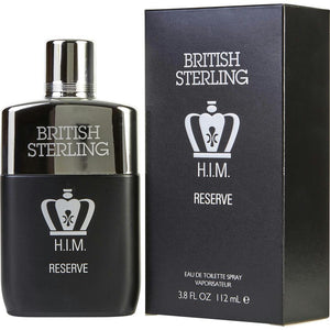 British Sterling Him Reserve By Dana Edt Spray 3.8 Oz
