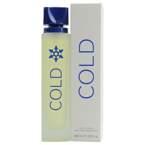 Cold By Benetton Edt Spray 3.3 Oz (new Packaging)