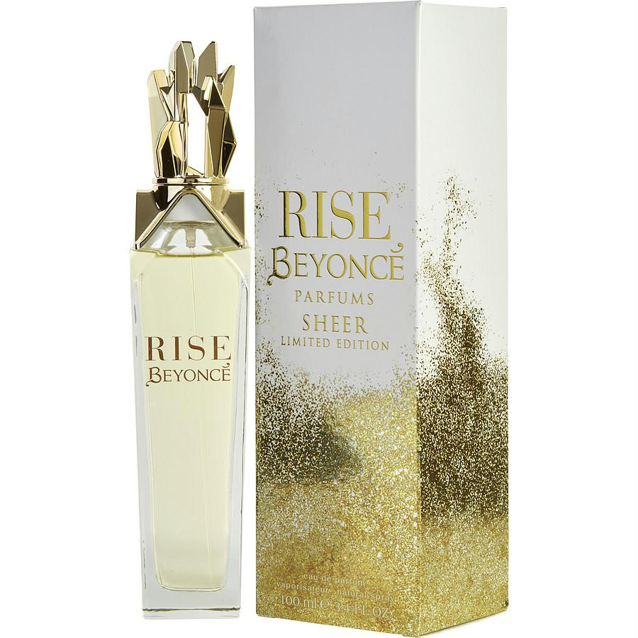 Beyonce Rise Sheer By Beyonce Eau De Parfum Spray 3.4 Oz (limited Edition)