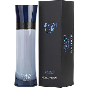 Armani Code Colonia By Giorgio Armani Edt Spray 4.2 Oz