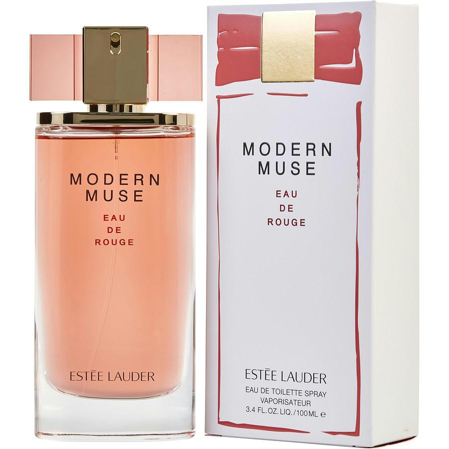 Modern Muse Eau De Rouge By Estee Lauder Edt Spray 3.4 Oz