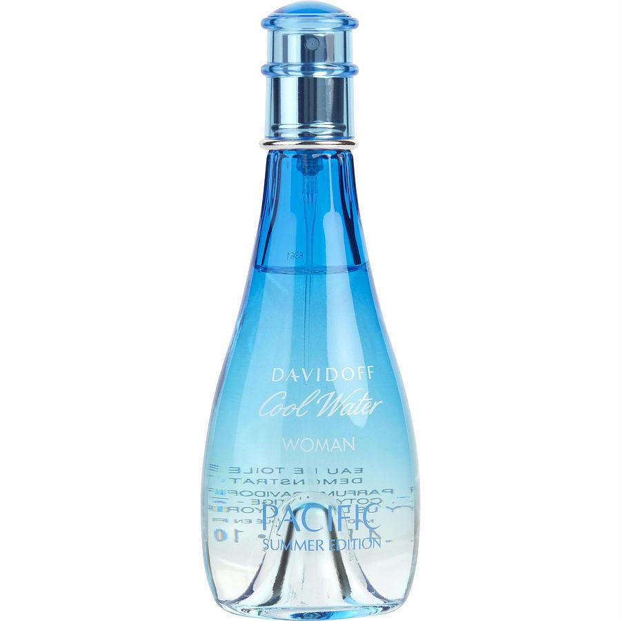 Cool Water Pacific Summer By Davidoff Edt Spray 3 4 Oz (limited Edition  2017) *tester