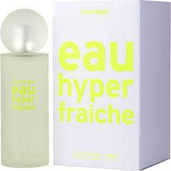 Courreges Eau Hyper Fraiche By Courreges Edt Spray 3 Oz