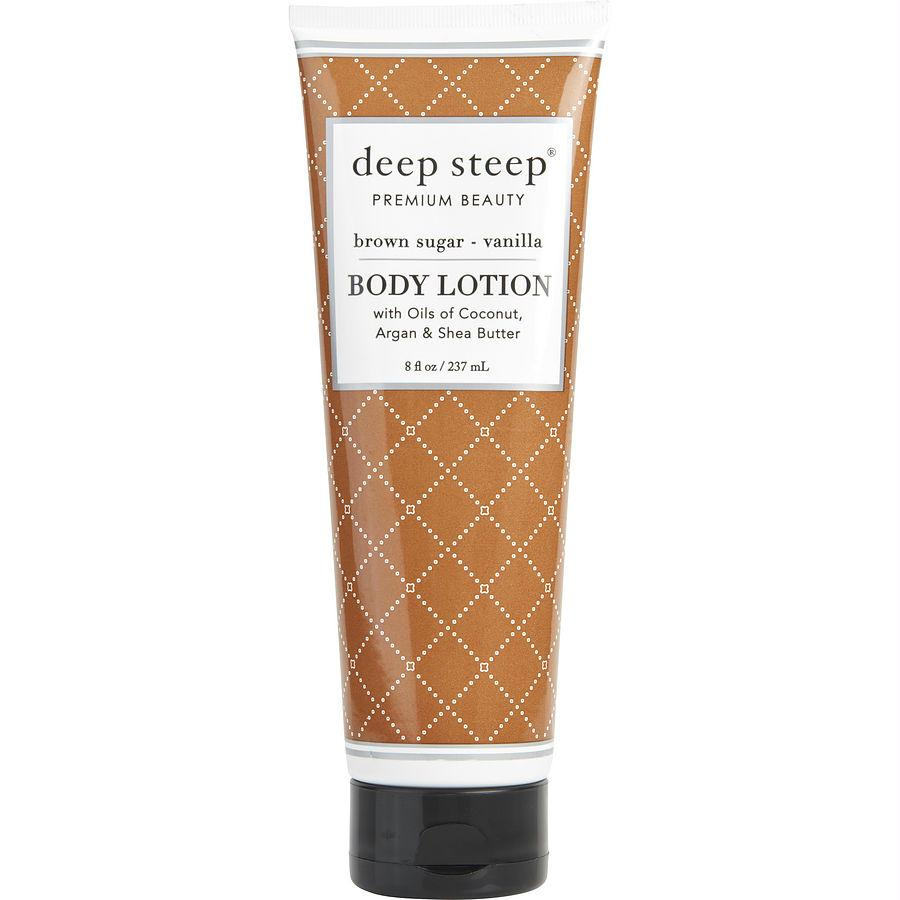 Deep Steep Brown Sugar-vanilla Organic Body Lotion 8 Oz By Deep Steep