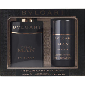 Bvlgari Gift Set Bvlgari Man In Black By Bvlgari