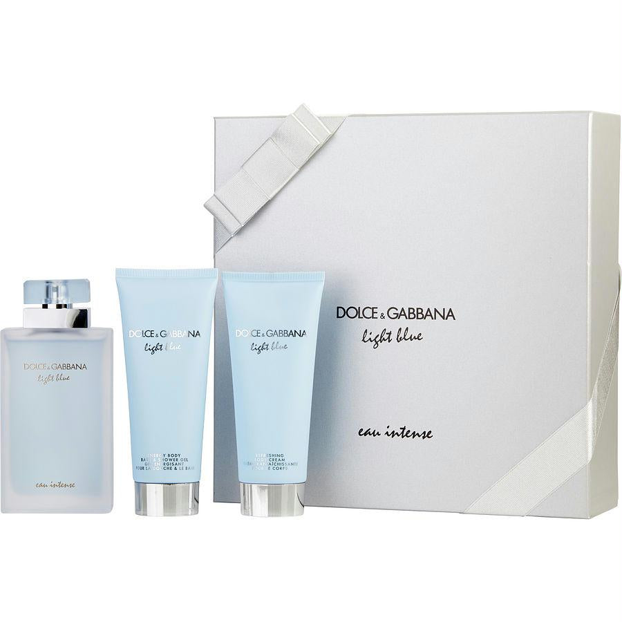 Dolce & Gabbana Gift Set D & G Light Blue Eau Intense By Dolce & Gabbana