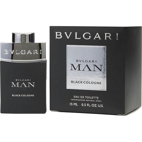 Bvlgari Man Black Cologne By Bvlgari Edt Spray .5 Oz