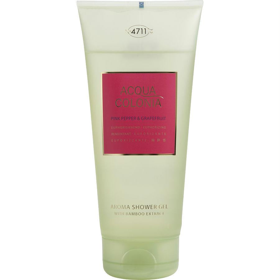 4711 Acqua Colonia By 4711 Pink Pepper & Grapefruit Shower Gel 6.8 Oz