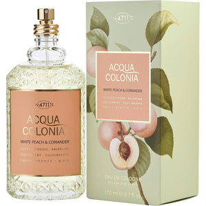 4711 Acqua Colonia By 4711 White Peach Coriander Eau De Cologne Spray 5.7 Oz