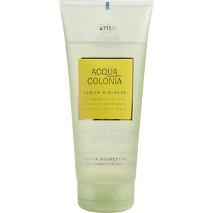 4711 Acqua Colonia By 4711 Lemon & Ginger Shower Gel 6.8 Oz