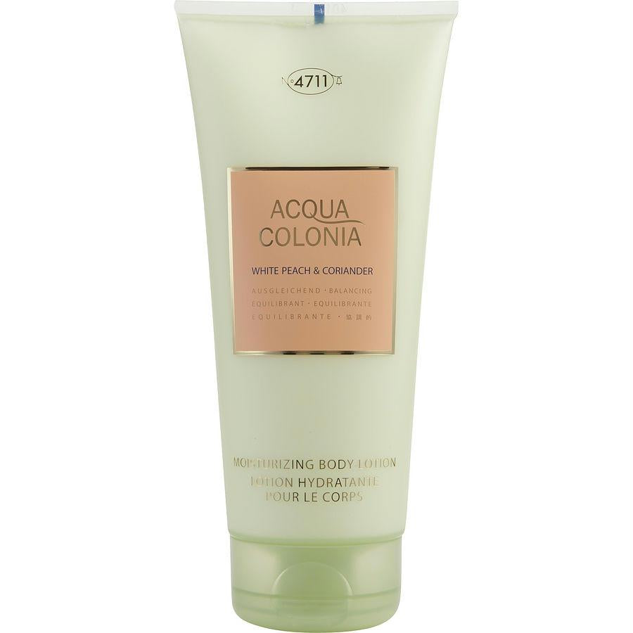 4711 Acqua Colonia By 4711 White Peach Coriander Body Lotion 6.8 Oz