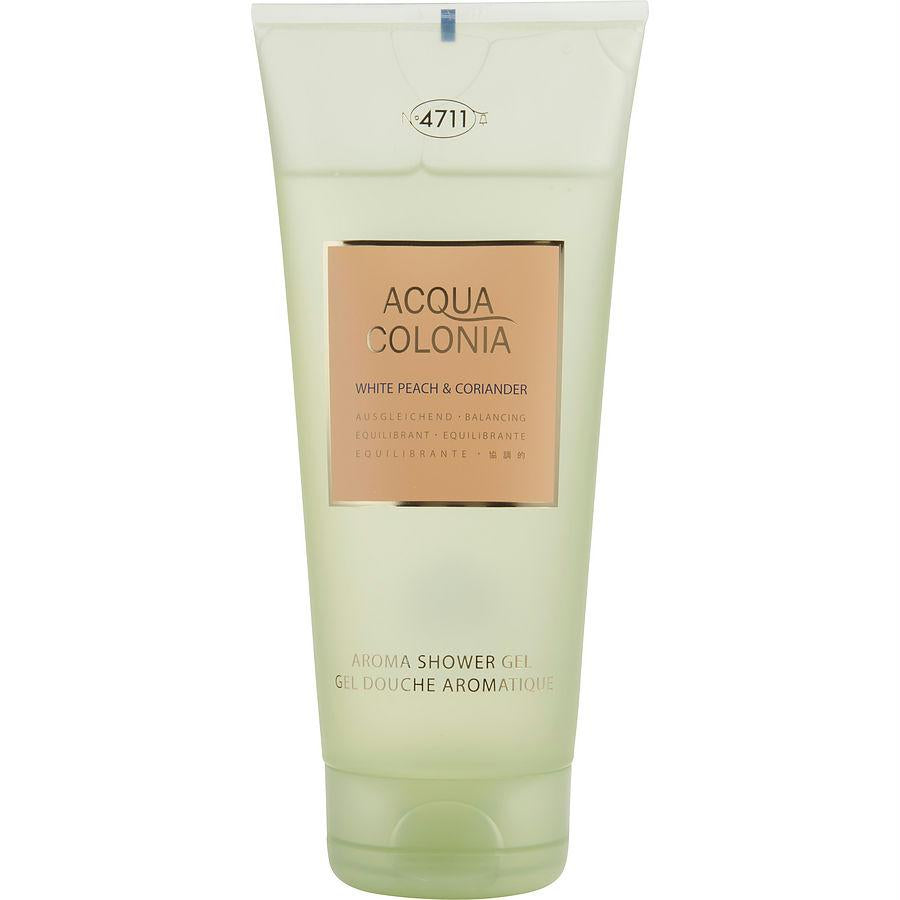 4711 Acqua Colonia By 4711 White Peach Coriander Shower Gel 6.8 Oz