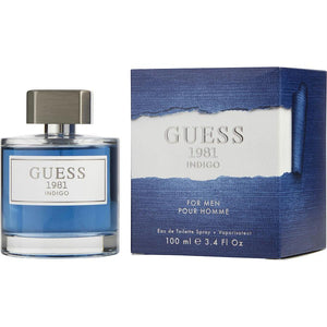 Guess 1981 Indigo By Guess Edt Spray 3.4 Oz