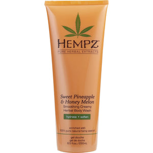 Sweet Pineapple And Honey Melon Herbal Body Wash 8.5 Oz