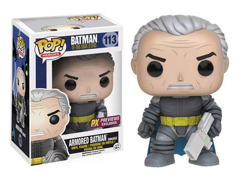 Funko Pop Batman Armored (Unmasked) PX Exclusive