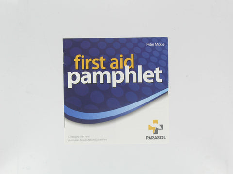 Manual - First Aid Pamphlet