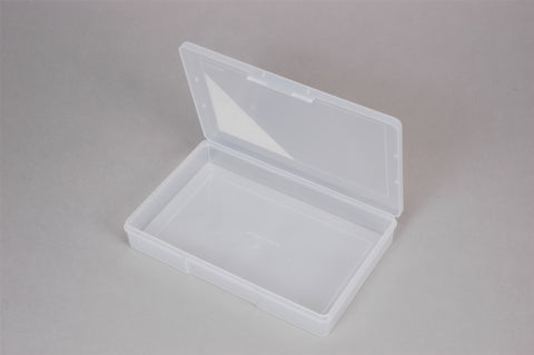 Kit - First Aid Plastic Clear Large Empty