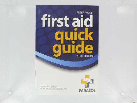 Manual - First Aid Quick Guide PARASOL