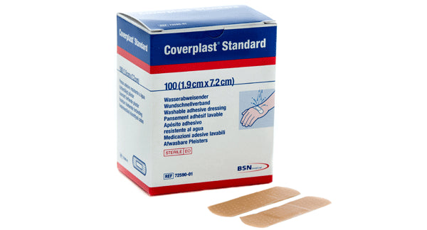 Dressing Strip - Coverplast Plastic (100)