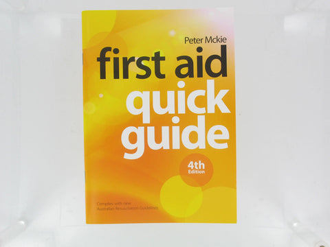 Manual - First Aid Quick Guide Generic Single