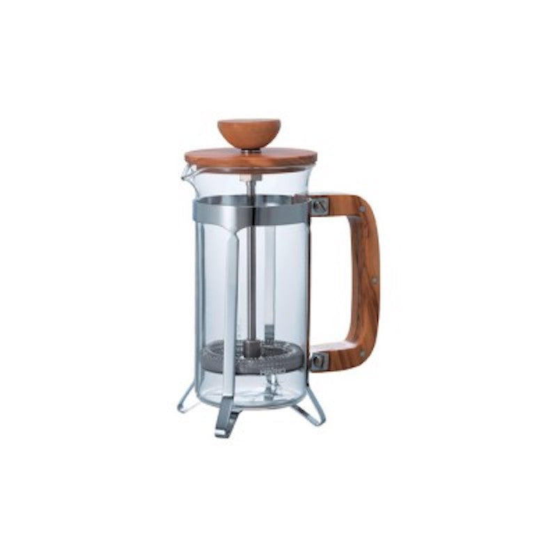 Hario Coffee Press 2 & 4 Cup - Olive Wood
