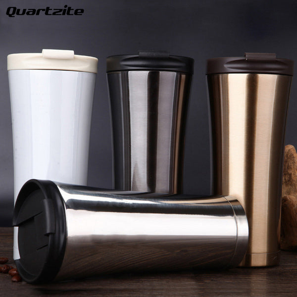 500ml Double Wall Stainless Steel Coffee Mug Insulation cold Tea Mug Milk Car Water Bottle Thermocup High quality