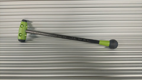"The CROWN JEWEL  -  13"" Lime Green"
