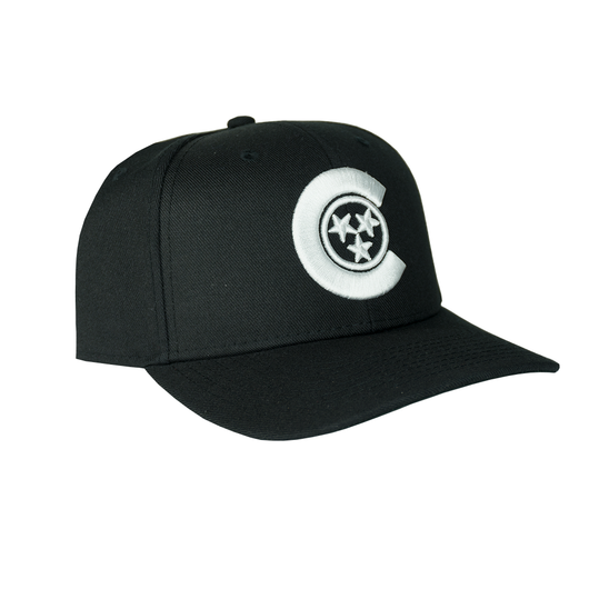 CALIVILLE C-STAR SNAPBACK (black)