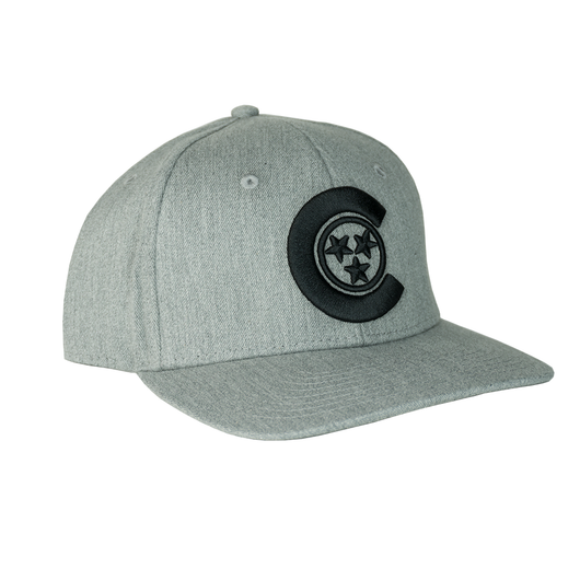 CALIVILLE C-STAR SNAPBACK (grey)