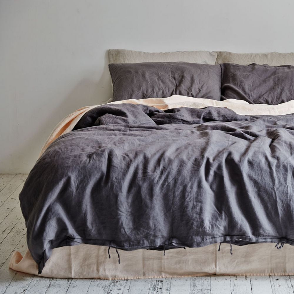 In Bed Duvet Cover Charcoal
