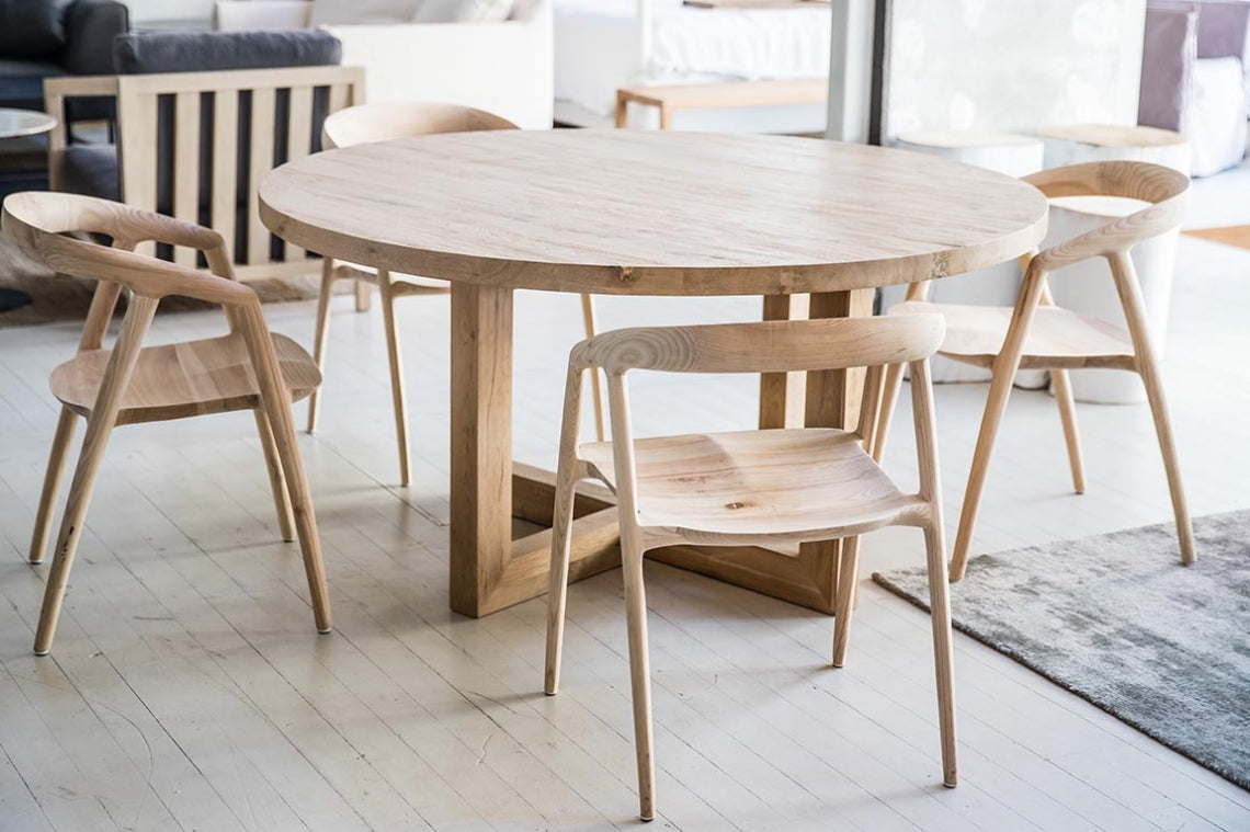 Global Round Dining Table – SMITHMADE