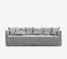Buy the White Joe Sofa with Arms from Smithmade on the Northern Beaches