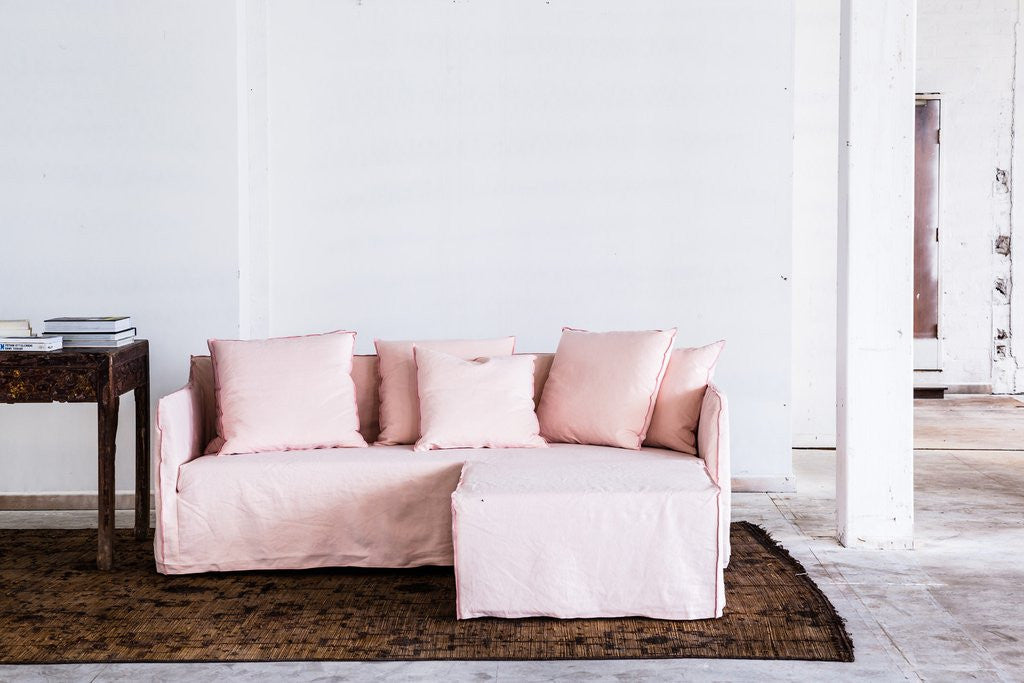 Buy the Chambray Joe Sofa with Arms from Smithmade on the Northern Beaches