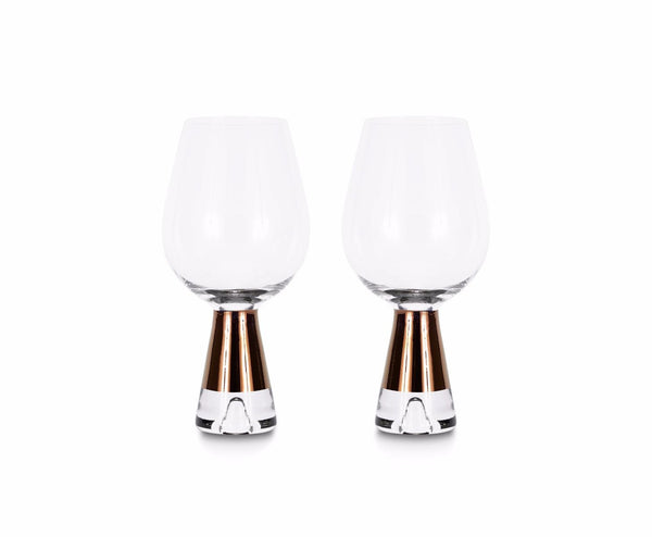 Tom Dixon Tank Wine Glasses x2