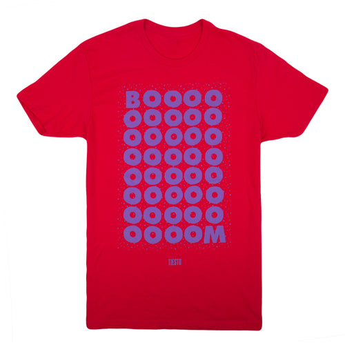 'Boom' T-Shirt - Red