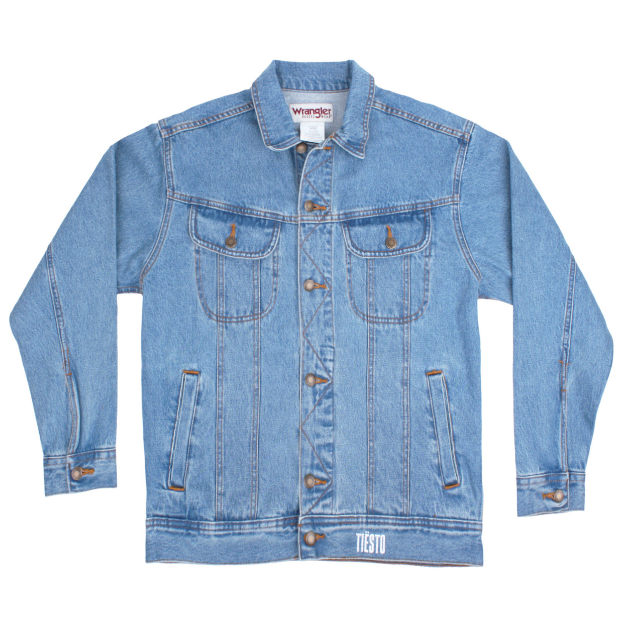 'Harder' Denim Jacket