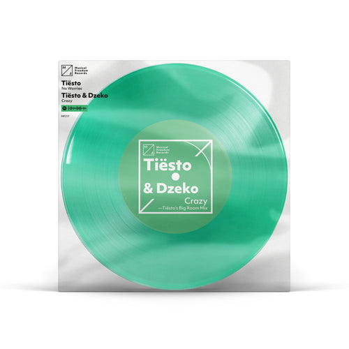 "Tiësto Clublife 5 China 'Crazy / No Worries' Single 7"" Vinyl"